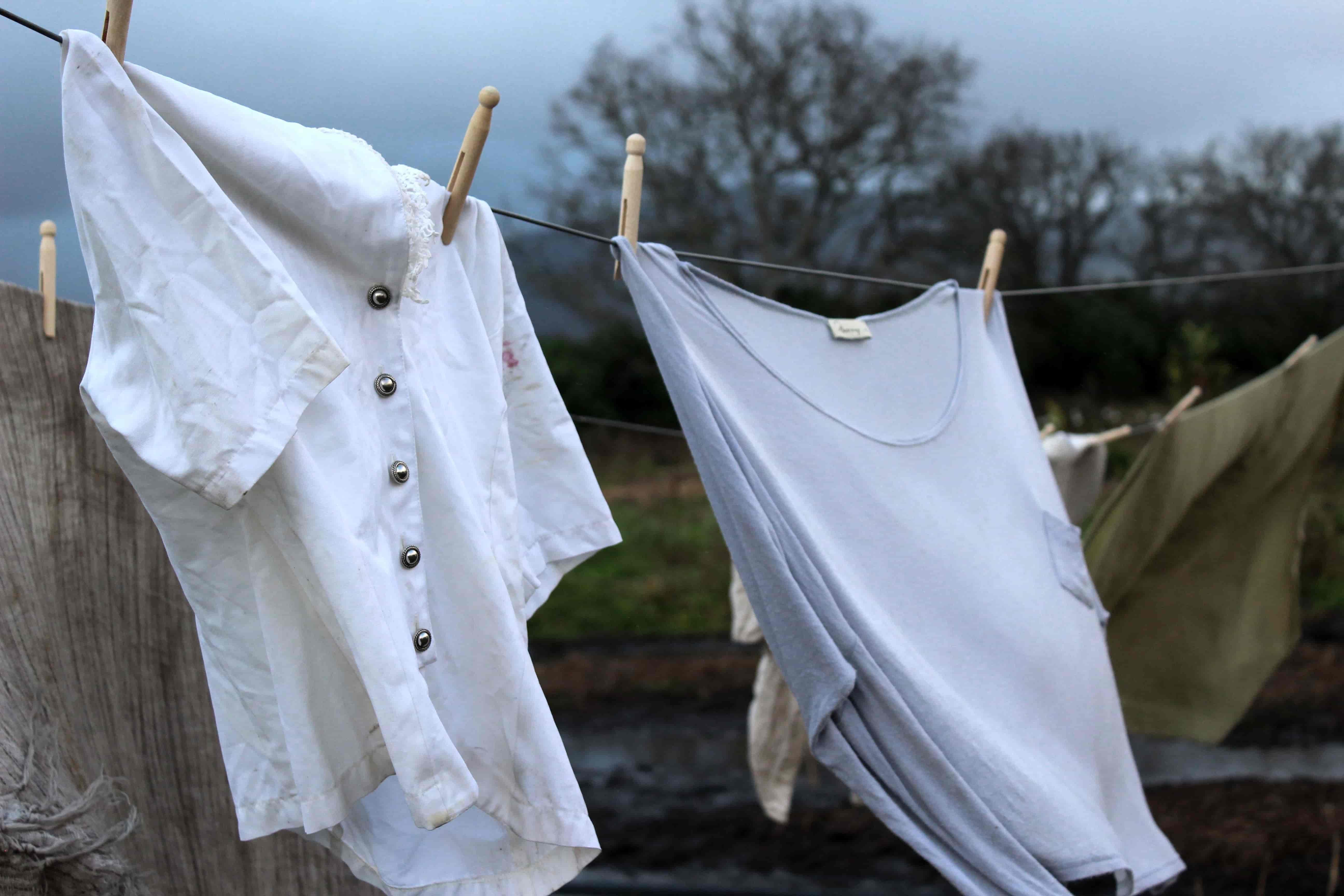 waslijn oude kleding