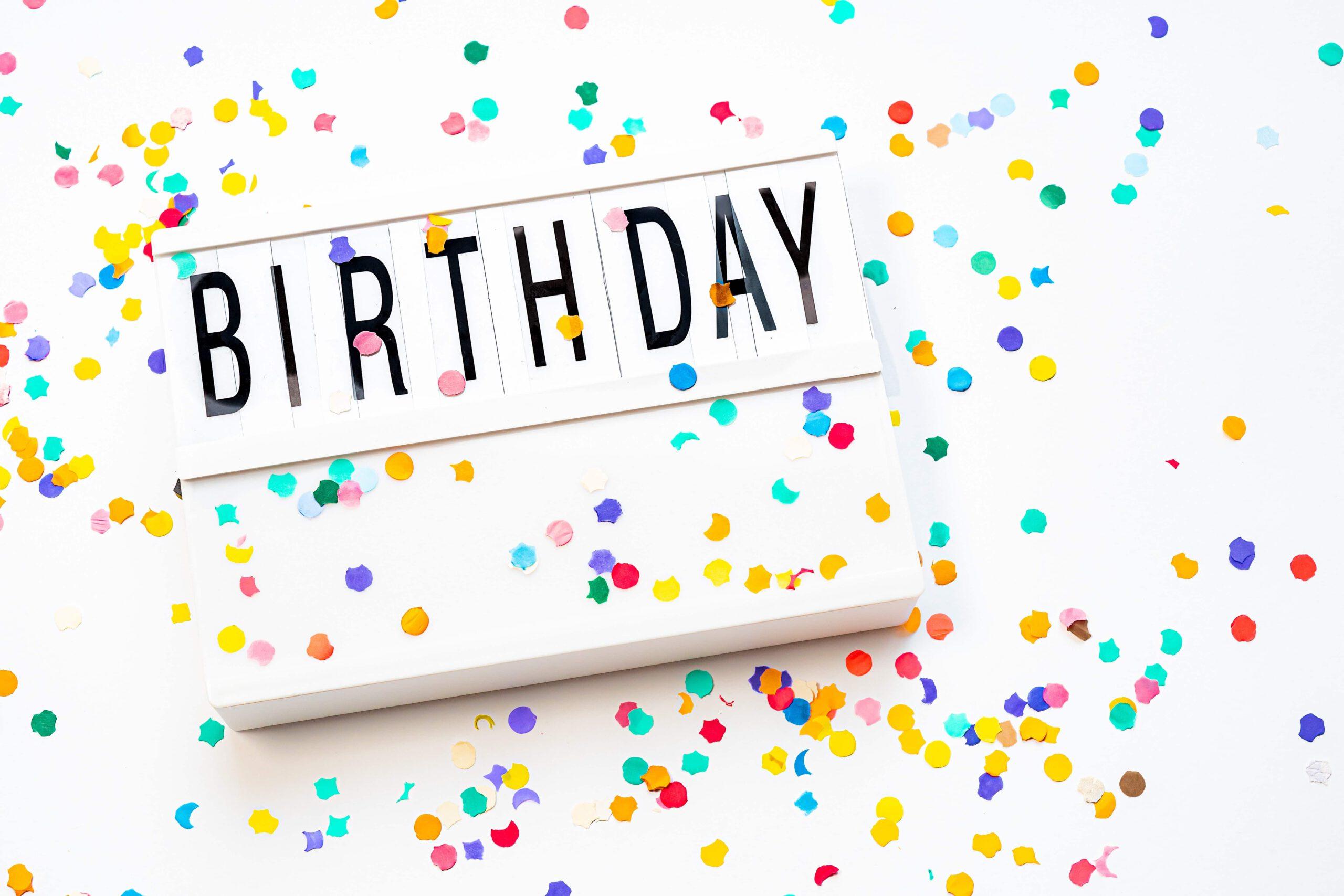 Leuke ideeën om je verjaardag te vieren