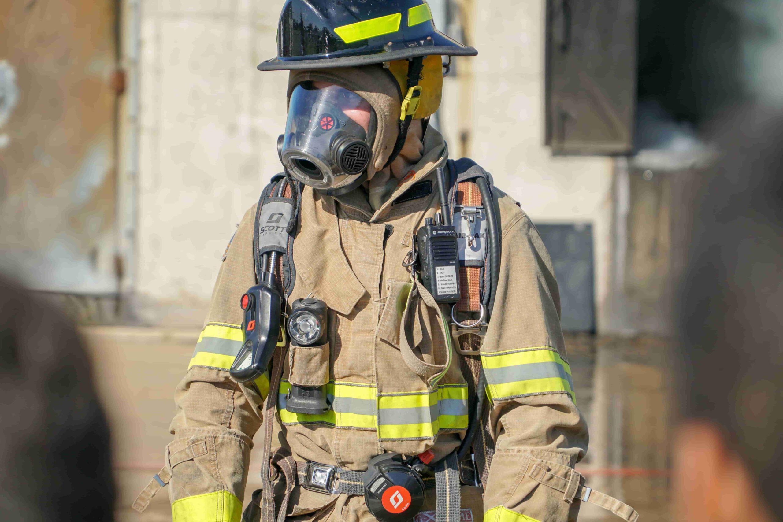 Brandweer oefenmateriaal